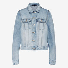 BADGED DENIM JACKET