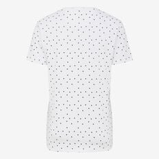SHADOW SPOT CREW NECK T-SHIRT