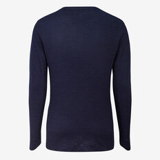 TEXTURED LONG SLEEVE T-SHIRT