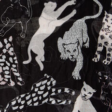 WILD SIDE PRINTED SCARF