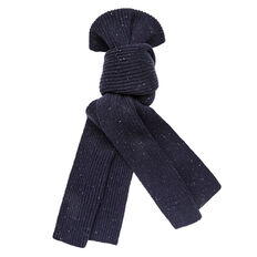 SPECKLE RIBBED SCARF