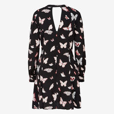 BUTTERFLY WOODLANDS PRINTED DRESS
