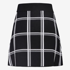 WOODLANDS CHECK SKIRT