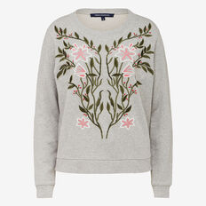FLORAL VINE SWEAT
