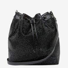 LARGE SPARKLE BUCKET BAG