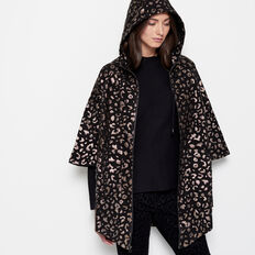 CAT WALK JAQUARD PONCHO