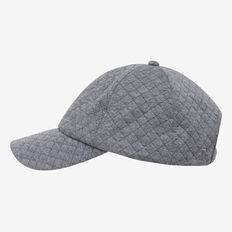 QUILTED JERSEY CAP