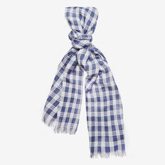 PLAID LIGHTWEIGHT SCARF