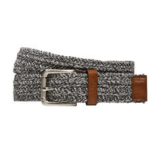 CANVAS MARLE PLAITED BELT