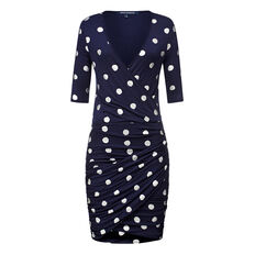 CONFETTI SPOT JERSEY DRESS