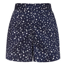 BUBBLE PRINT SHORT