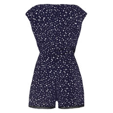 BUBBLE PRINT PLAYSUIT