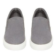 NUBUCK LEATHER SLIP ON