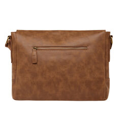 NOMAD LEATHER LOOK MESSENGER