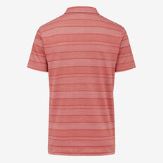 RED EARTH JAQUARD POLO