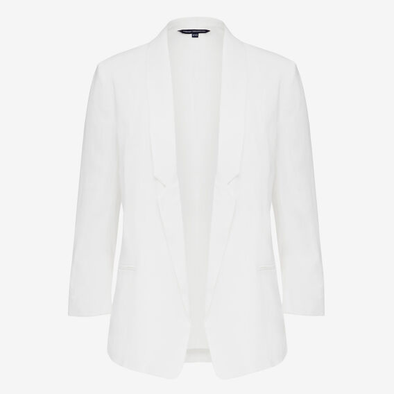 BLOCK SWOOP BLAZER