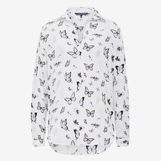 BUTTERFLY PRINTED POPOVER