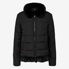 PLEATED PUFFA JACKET
