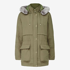 WOODLANDS FUR HOOD JACKET