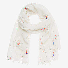 HIT THE SLOPES SCARF