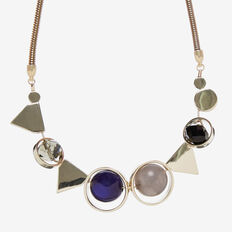 MIXED GEO NECKLACE