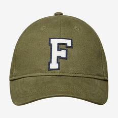 OLIVE 'F' CAP