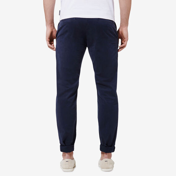 REGULAR FIT STRETCH CHINO PANT  NAVY  hi-res