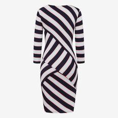NEW ENGLAND BANDAGE DRESS  NOCT/BLUE FOG/STRAWB  hi-res