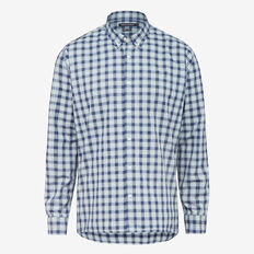 MEADOW CHECK REGULAR FIT SHIRT  MEADOW/GREEN BLUE  hi-res