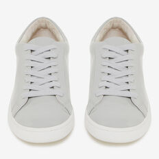 PATENT LEATHER SNEAKER  GREY  hi-res