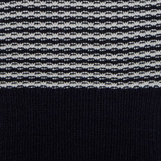 STRIPE SCARF  OXFORD BLUE/WHITE  hi-res