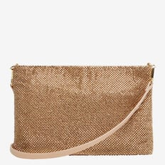SPARKLE CLUTCH  ROSE GOLD  hi-res