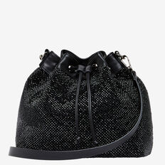 SPARKLE BUCKET BAG  JET BLACK  hi-res
