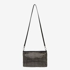 WEAVE CLUTCH  BLACK  hi-res