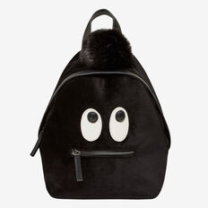 FURRY FRIEND BACKPACK  BLACK  hi-res