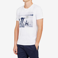 FCUK THIS SHARK T-SHIRT  WHITE  hi-res