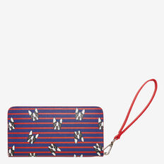STRIPE BOSTON WALLET  NOCTURNAL/RED  hi-res