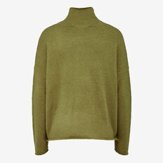 VHARI ROLL NECK  BURNT OLIVE  hi-res