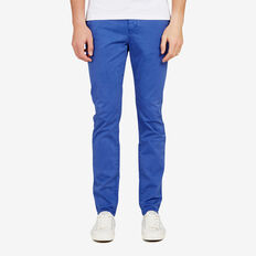 SLIM FIT STRETCH CHINO PANT  FRENCH BLUE  hi-res