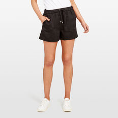 LYOCELL CASUAL SHORT  BLACK  hi-res