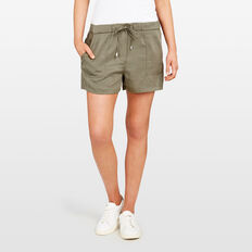 LYOCELL CASUAL SHORT  KHAKI  hi-res