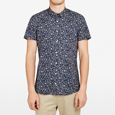 PACIFIC SEAS STRETCH SLIM FIT SHIRT  HAWAII BLUE  hi-res
