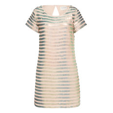 SERPENT SEQUIN DRESS  BLUSH/MULTI  hi-res