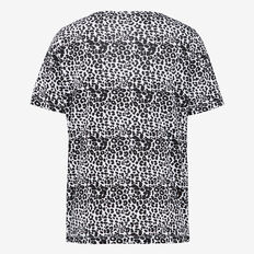 LEOPARD YARDAGE TEE  BLACK/SUMMER WHITE  hi-res