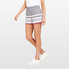 TEXTURED SHORT  SUM WHT/BLACK/FUCHSI  hi-res