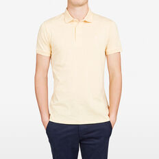 HAMPTON POLO  AMALFI YELLOW MARLE  hi-res
