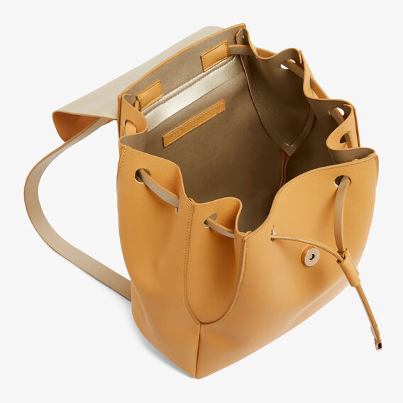 SLOUCHY BACKPACK  MARYGOLD/GOLD  hi-res
