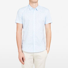 TURTLE SLIM FIT SHIRT  SKY BLUE  hi-res