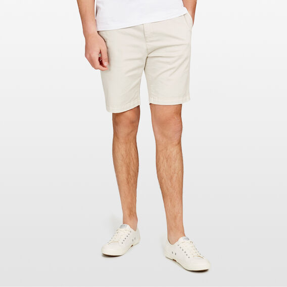 CHARLIE STRETCH CHINO SHORT  SALT  hi-res
