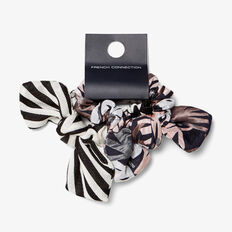 CHECK MATE SCRUNCHIES  MULTI  hi-res